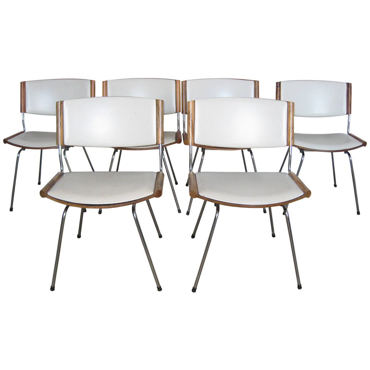 Nanna dietzel stackable dining chairs at stdibs