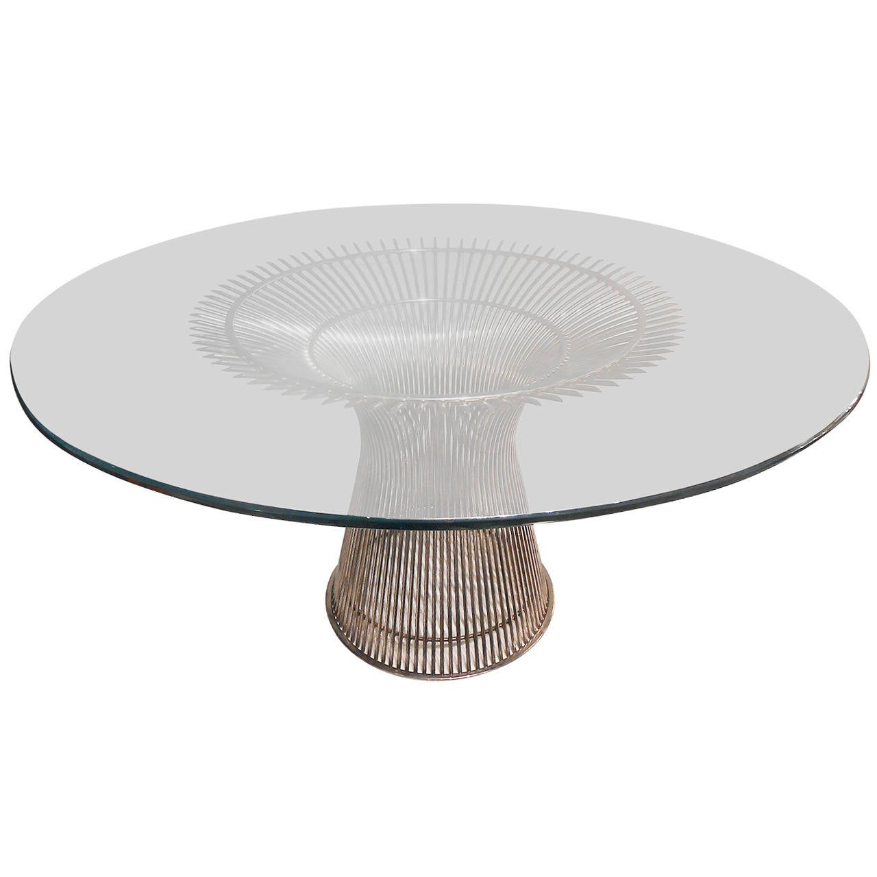 Warren Platner Dining Table for Knoll at 1stdibs : 1851032l from www.1stdibs.com size 1280 x 1280 jpeg 75kB