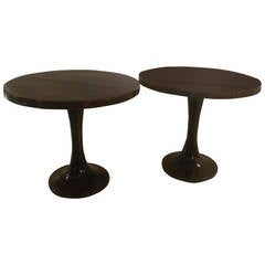 A pair of Occasional Tables by Aldo Tura