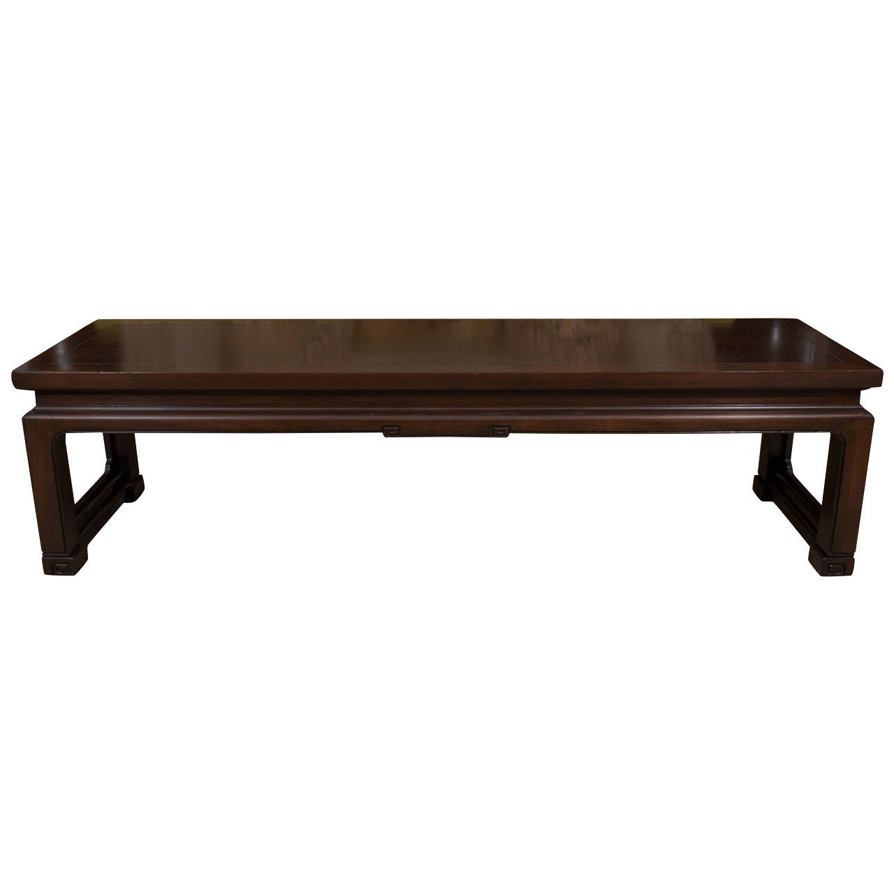 Vintage Baker Coffee Tables: Vintage Baker Asian Wood Coffee Table At 1stdibs