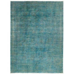 Vibrant Hand-Knotted Rug, One-of-a-kind