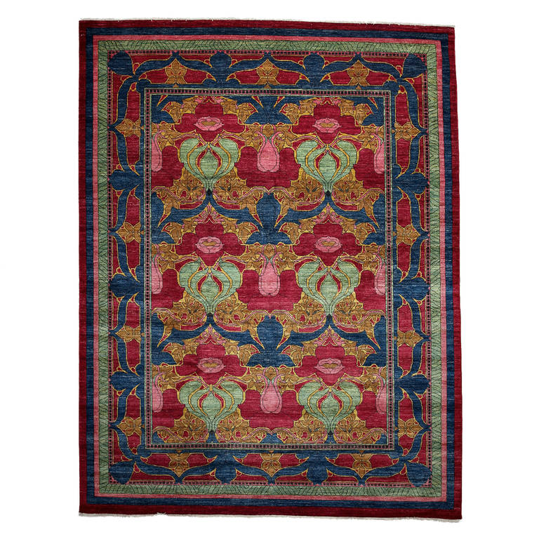 darya arts and crafts oriental rug contemporary for sale. Black Bedroom Furniture Sets. Home Design Ideas