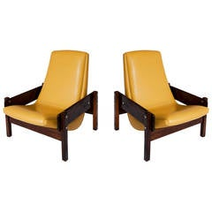 "Rare Pair of ""Vronka"" Chair by Sergio Rodrigues"