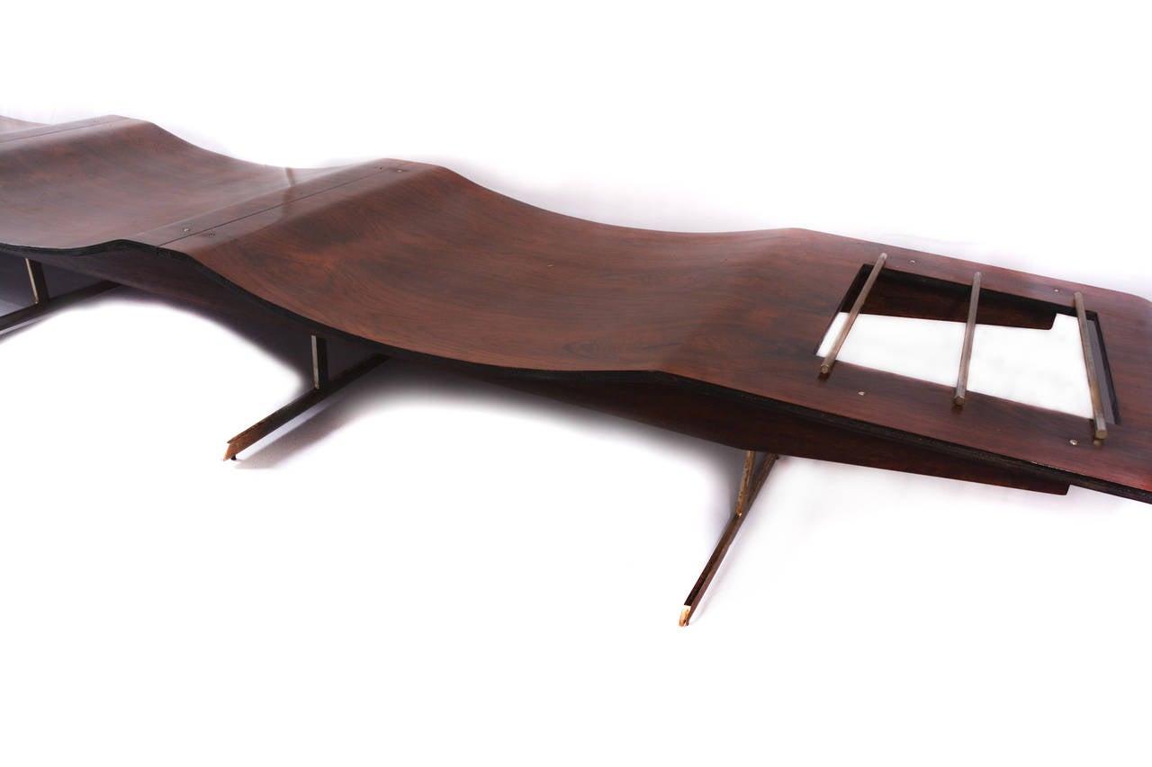 Onda Bench by Jorge Zalszupin 2