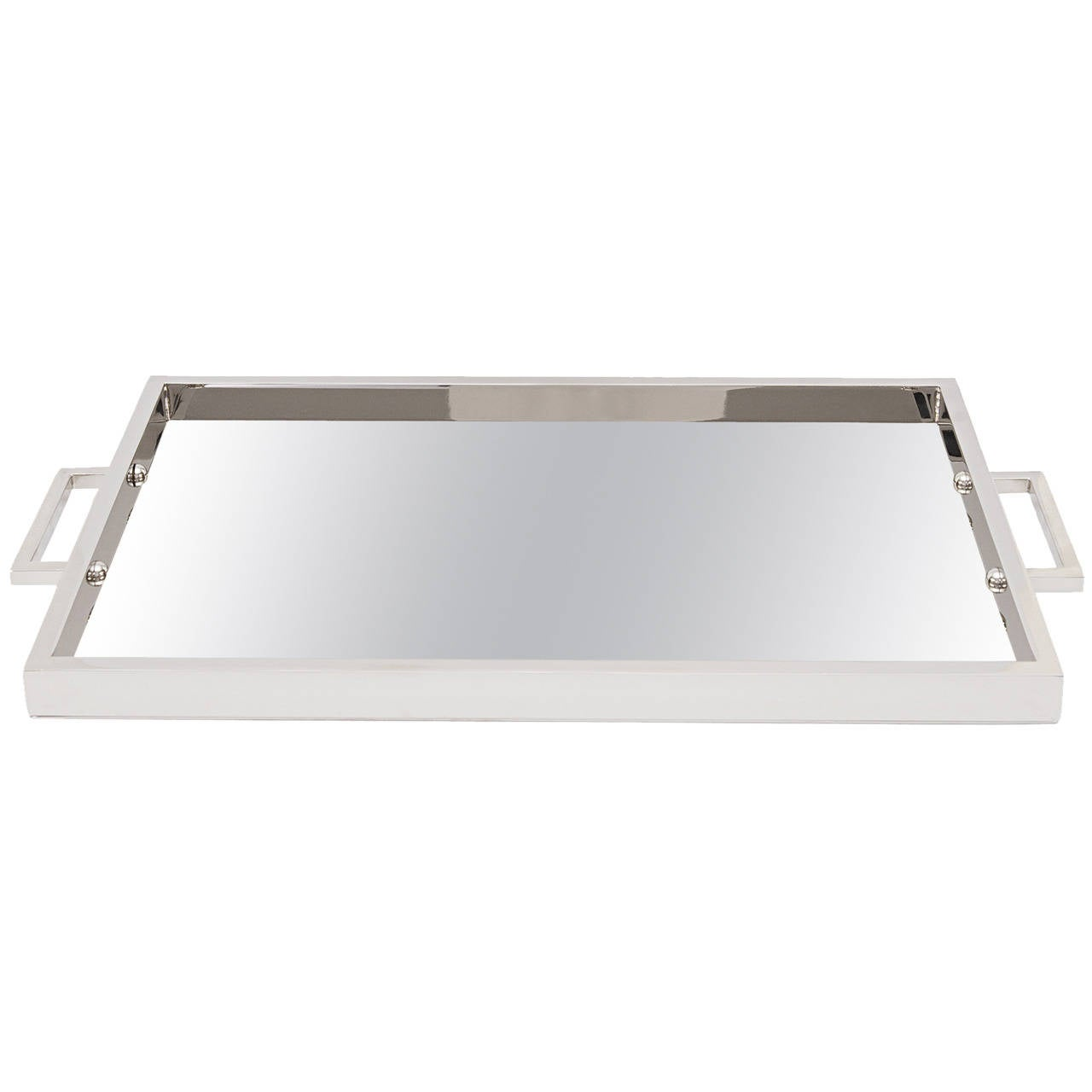 Mies Nickel Tray by Michael Dawkins