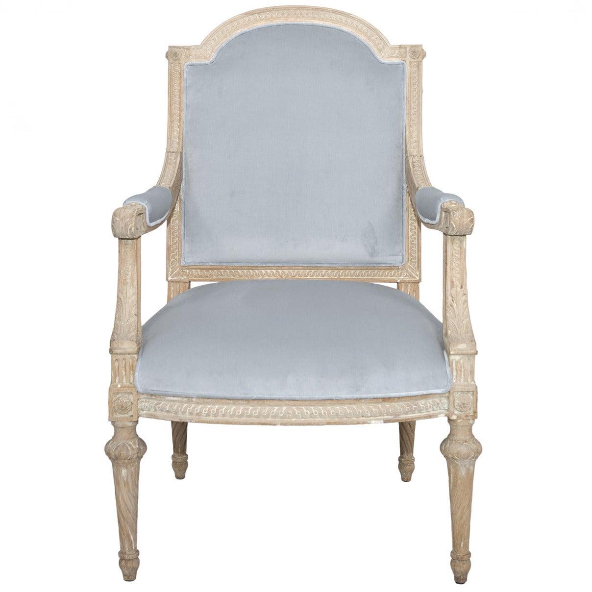 19th century antique louis xvi chair at 1stdibs - Louis th chairs ...