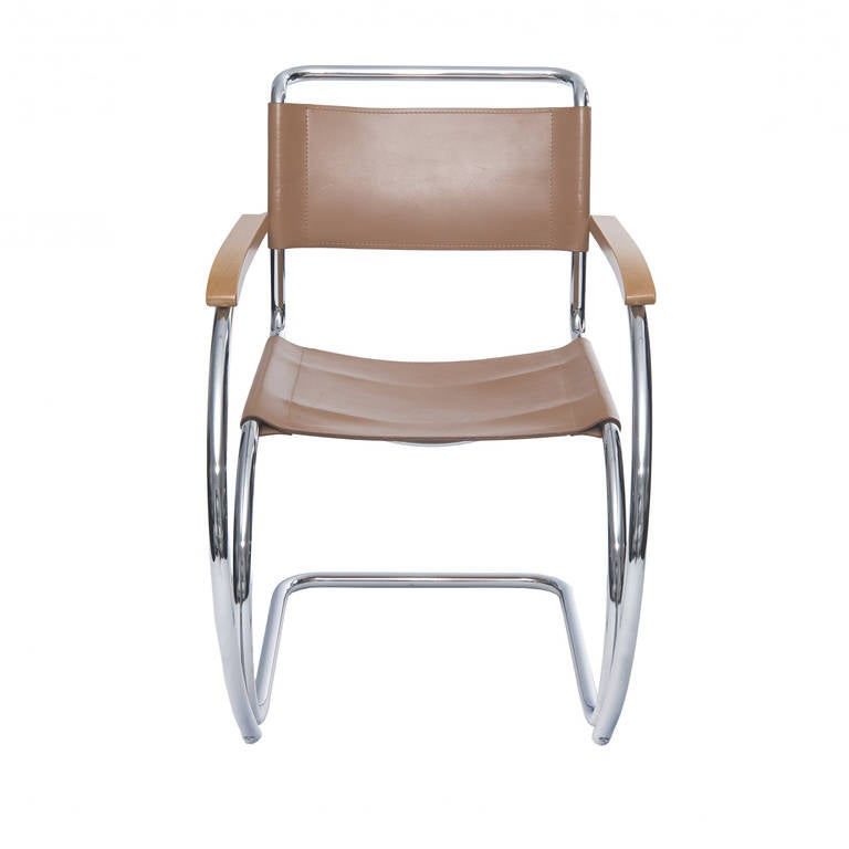 Mr Lounge Chairs By Mies Van Der Rohe At 1stdibs