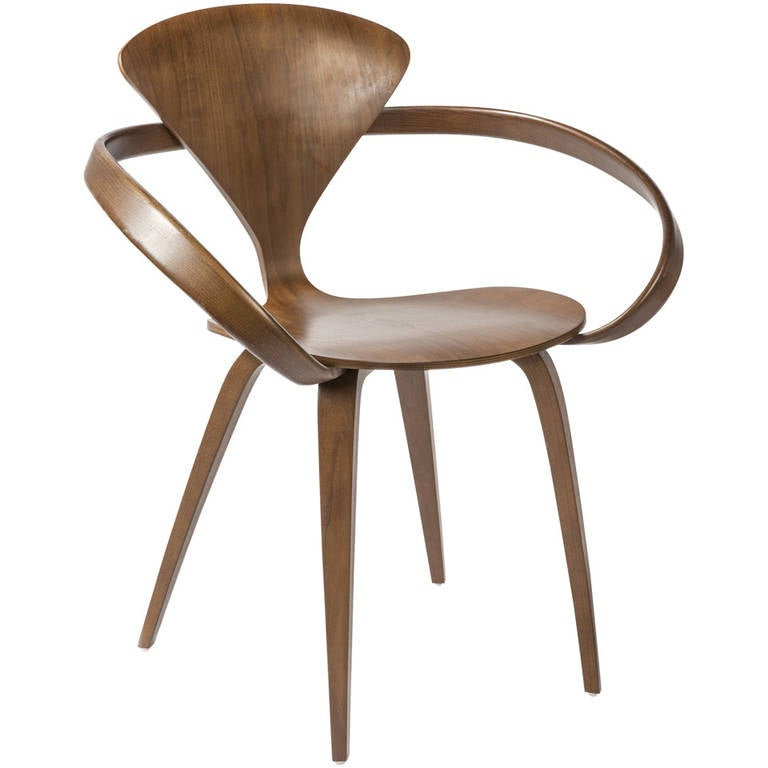 Sculptural Armchair By Norman Cherner At 1stdibs