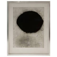 """Black Lemon"" Aquatint by Donald Sultan"
