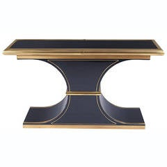 Mastercraft Lacquer Brass Console