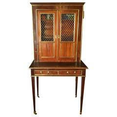 18th century french walnut bureau secretary for sale at for Model de bureau secretaire
