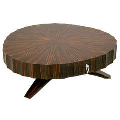 Coffee Table in Macassar Ebony