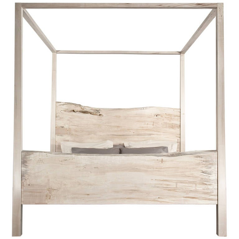 King Canopy Bed Solid Maple For Sale  sc 1 st  1stDibs & King Canopy Bed Solid Maple For Sale at 1stdibs