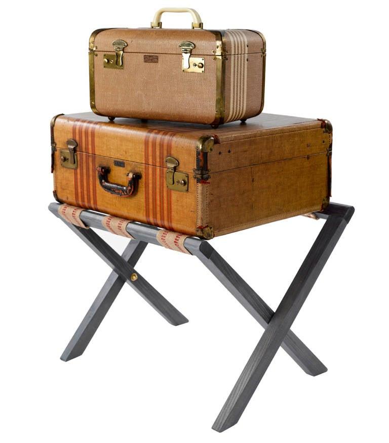 luggage rack in ebonized ash at 1stdibs