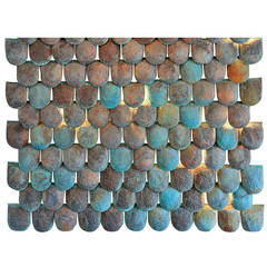 Miro's Hammered and Patinated Wall Scales