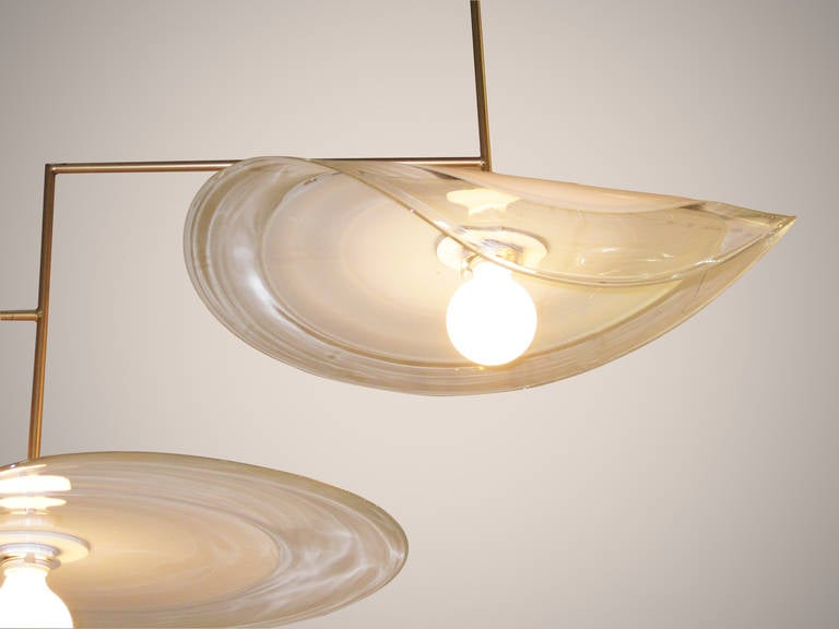 American Lilypad Chandelier For Sale