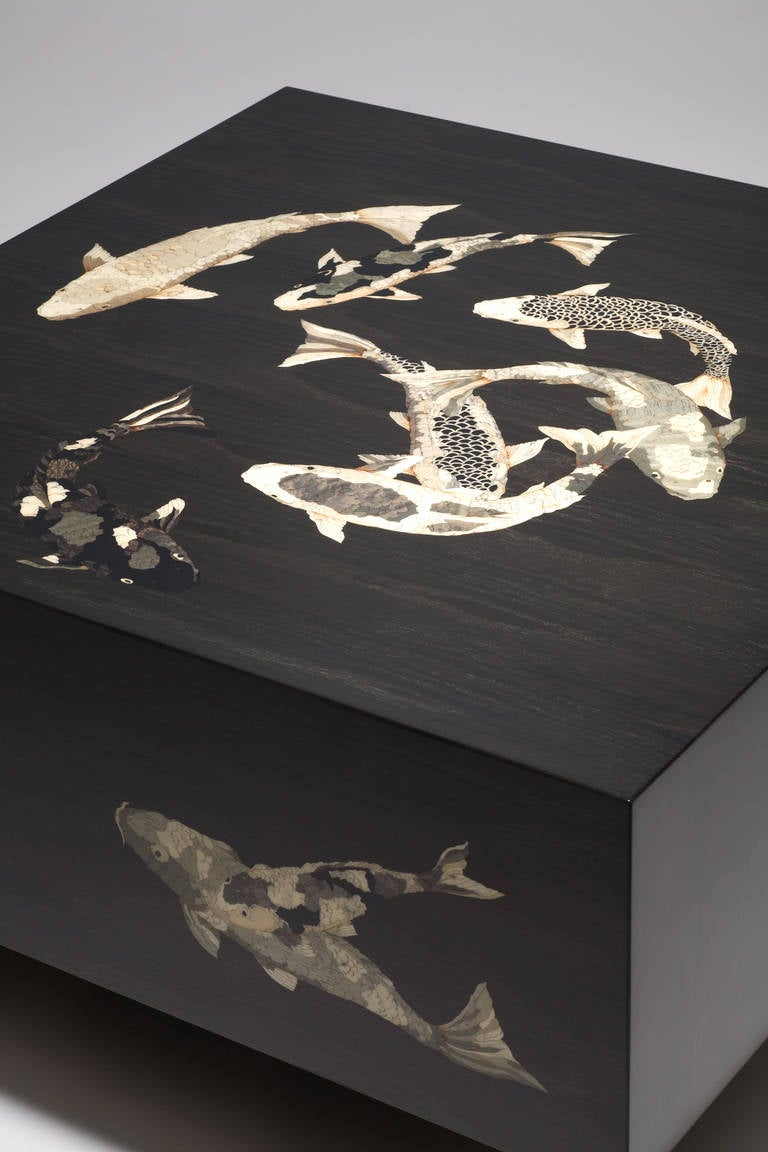 Koi table medium contemporary for sale at 1stdibs for Koi pool table