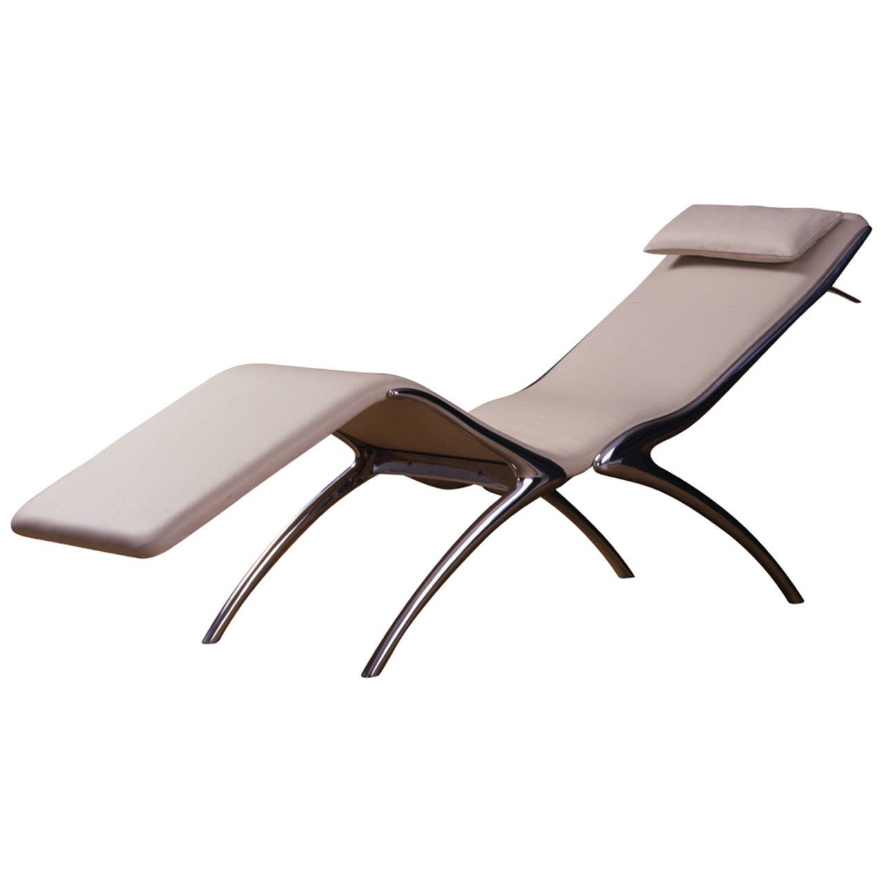 Exclusive chaises longue at 1stdibs for Chaises longues aluminium
