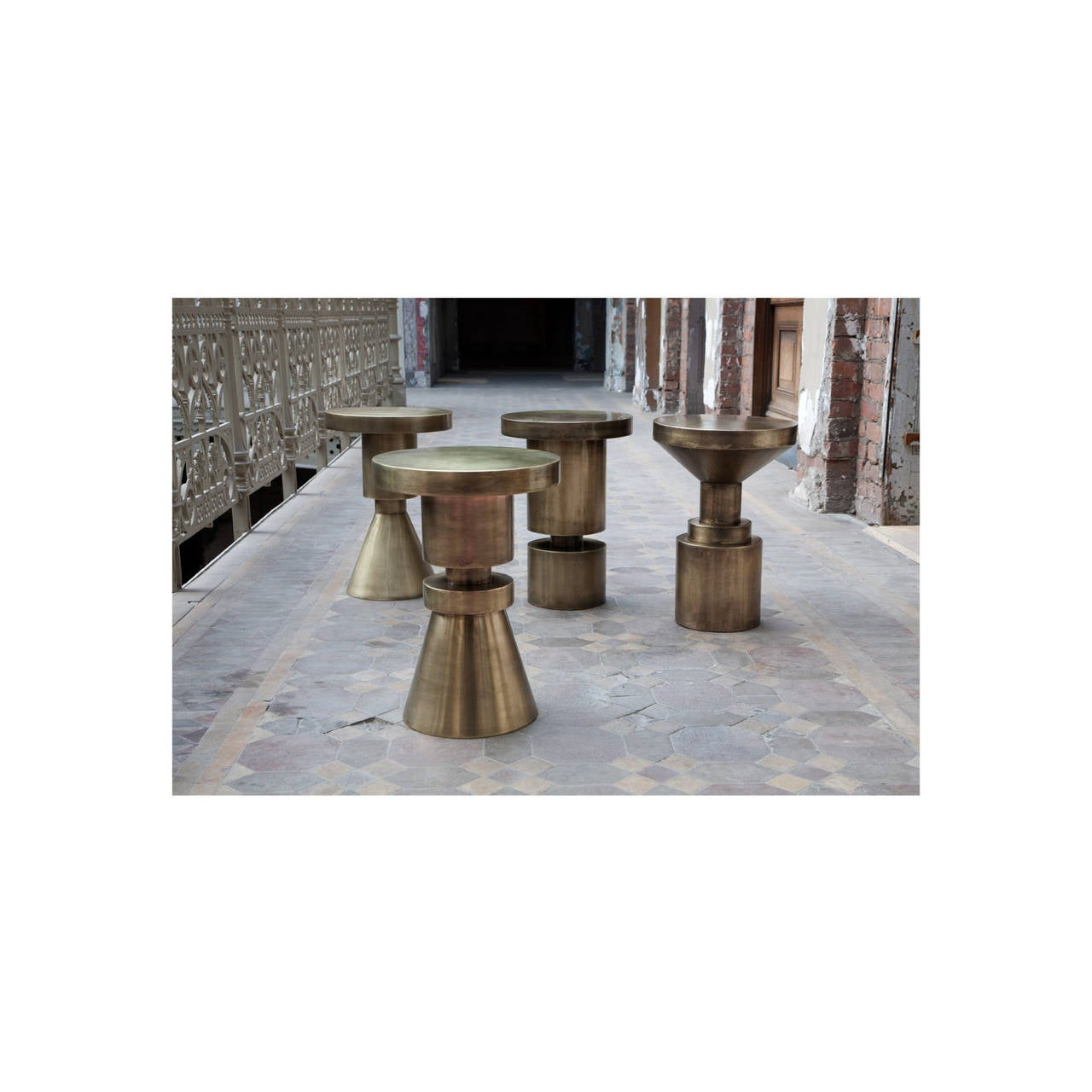 Set of four chess stools for sale at 1stdibs set of four chess stools 3 geotapseo Image collections