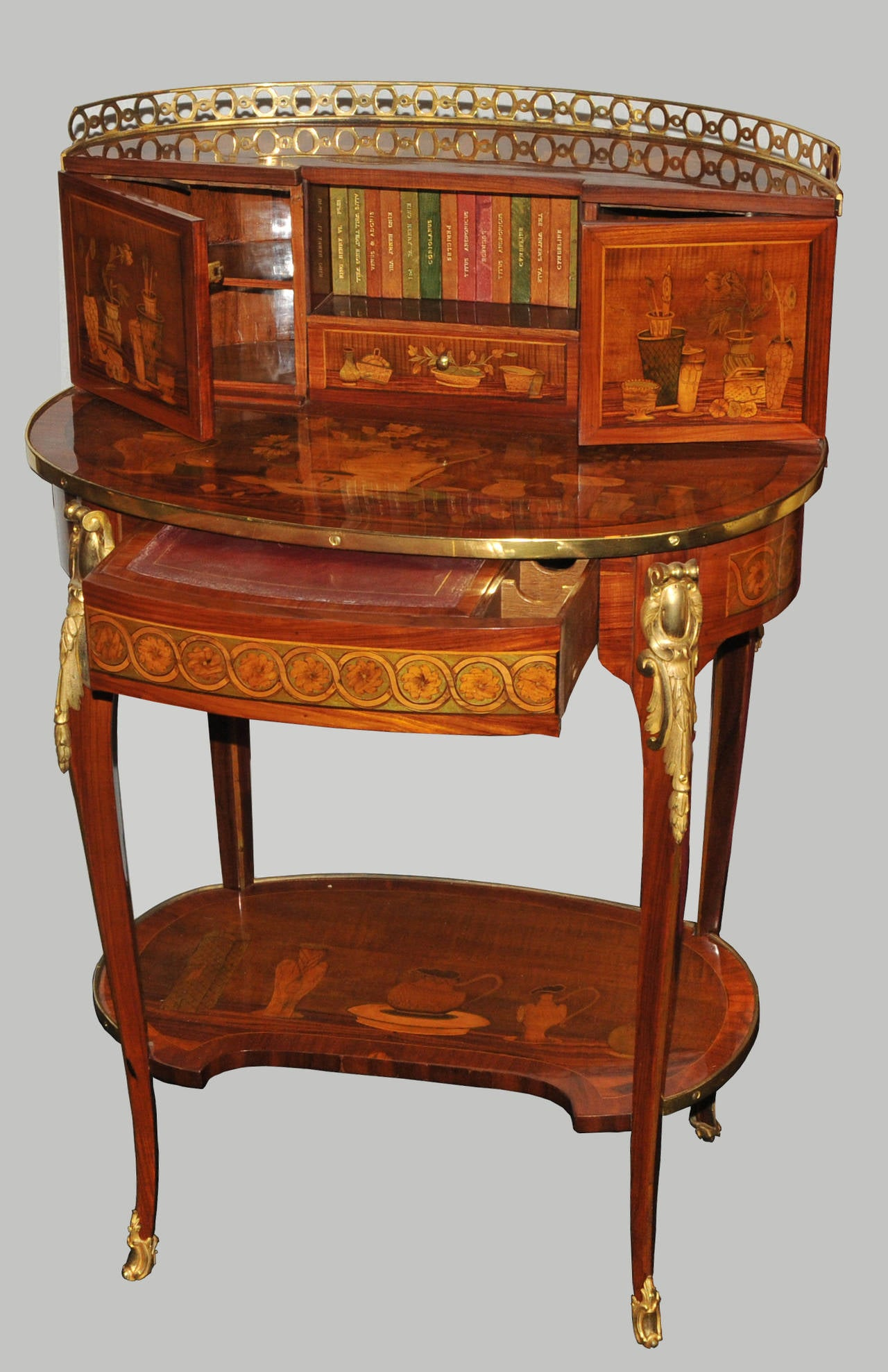 Bonheur du jour attributed to charles topino at 1stdibs - Archives du doubs tables decennales ...
