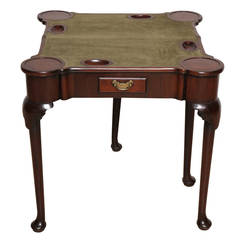 George II Mahogany Console Games Table