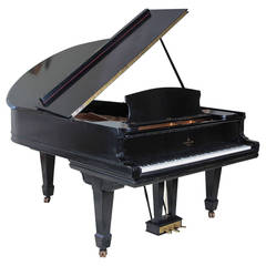 "Ebonized Steinway and Sons ""Model A"" Grand Piano"