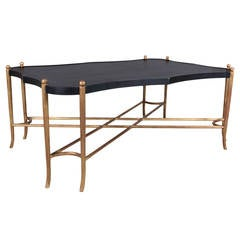 Chinoiserie Black and Gilt Tray Table
