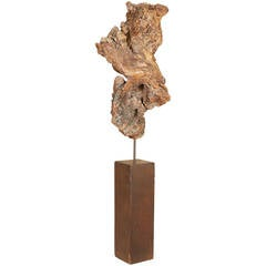 Gilt Driftwood Sculpture
