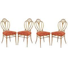 1960s Chiavari Brass Chairs