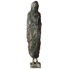 Untitled Figure Sculpture in Plaster by Auguste Garufi