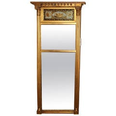 Early 19th Century Federal Giltwood Mirror