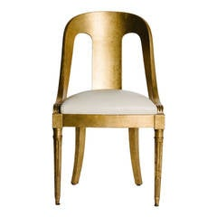 Period Charles X Gilded Chair