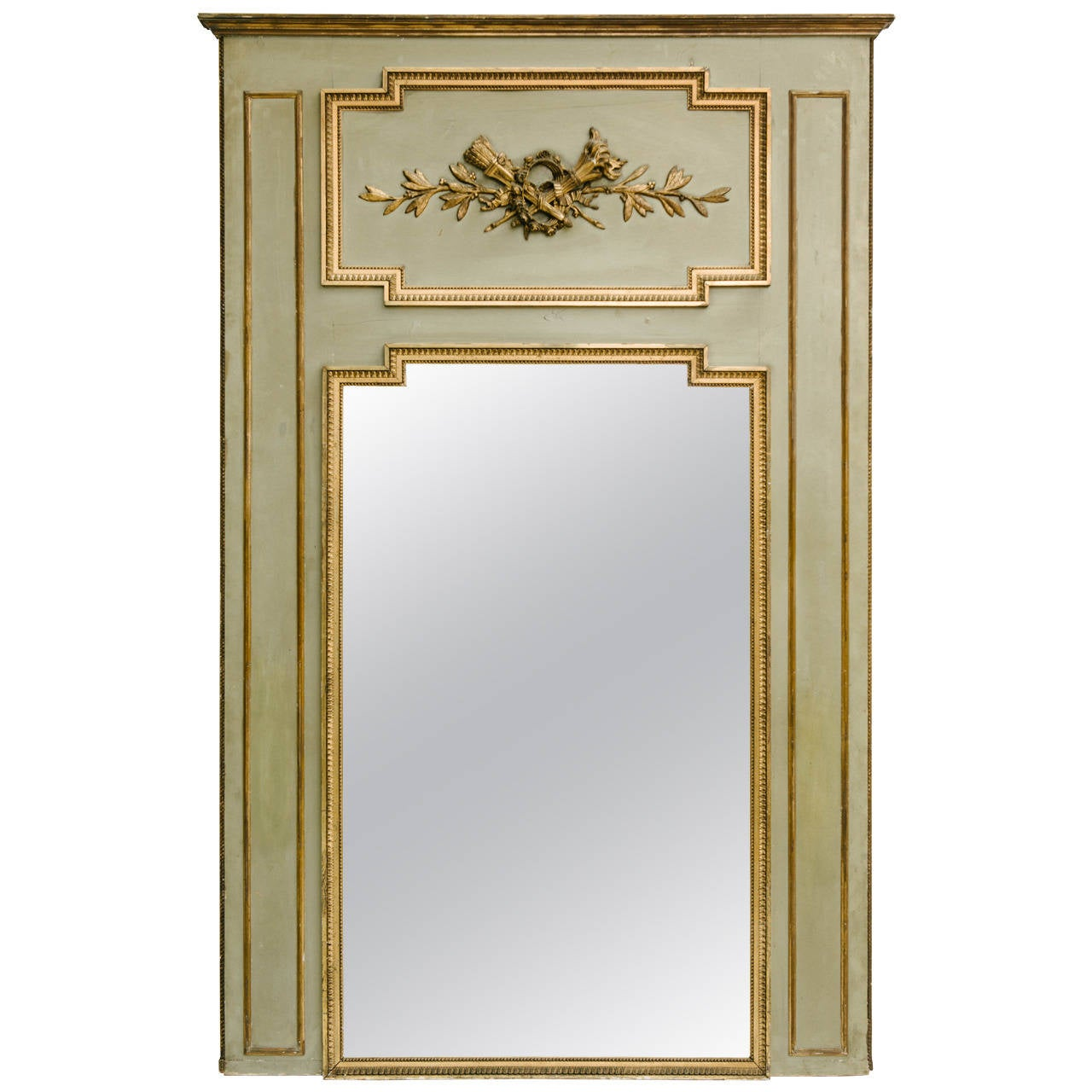 19th century french trumeau mirror for sale at 1stdibs for French mirror