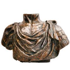 Vintage Italian Torso Sculpture
