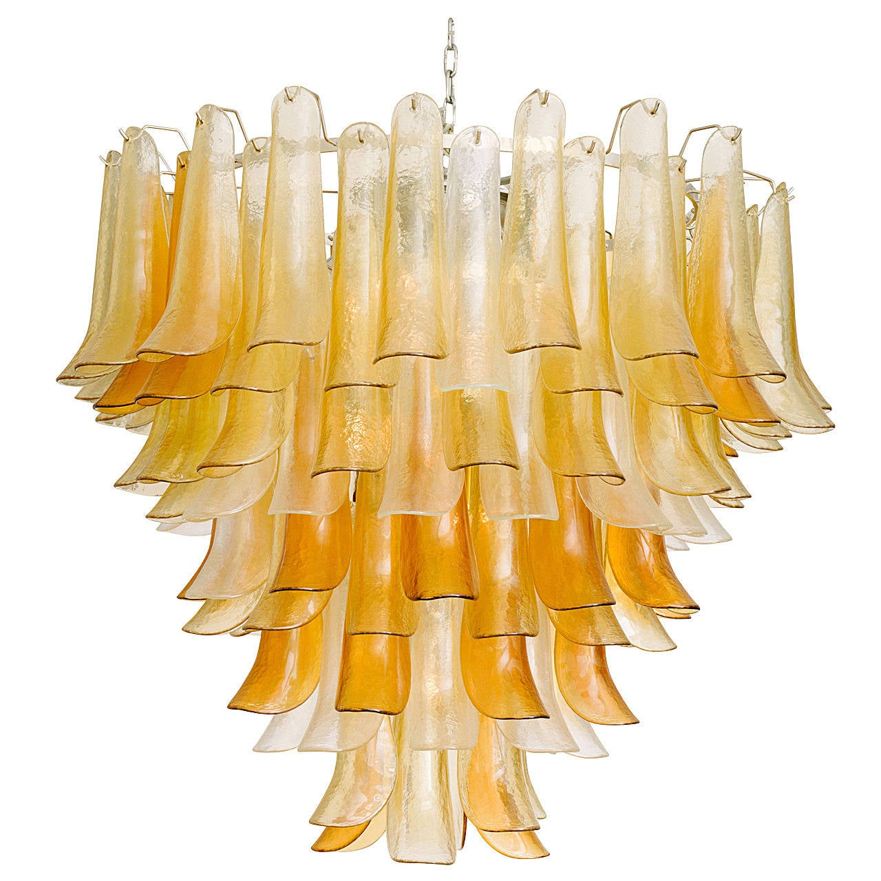 Monumental Murano Chandelier by Barovier