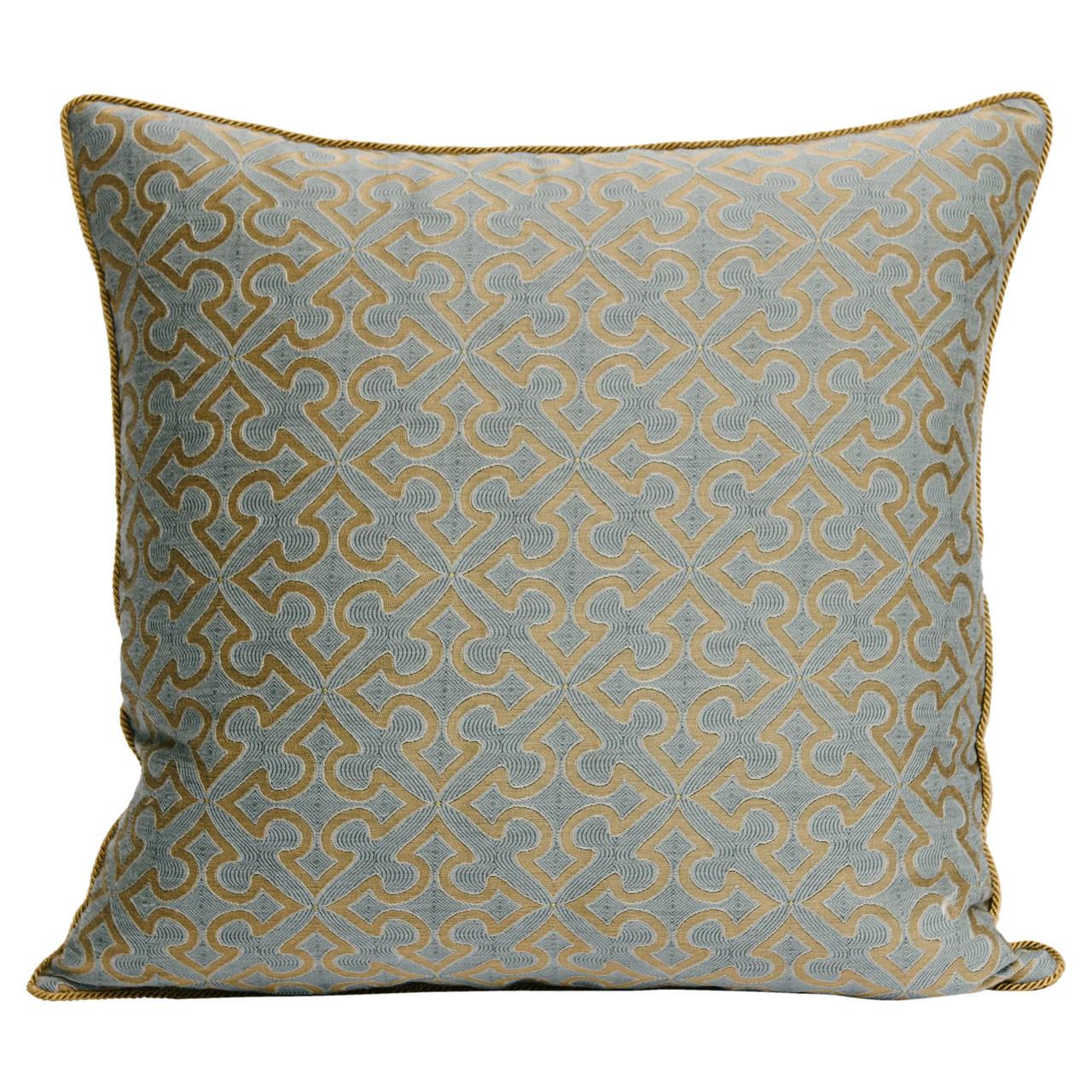 Custom Romanesque Patterned Pillow, 2015