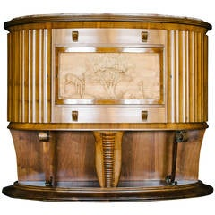 Period French Art Deco Dry Bar