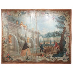 Massive 18th Century French Painting