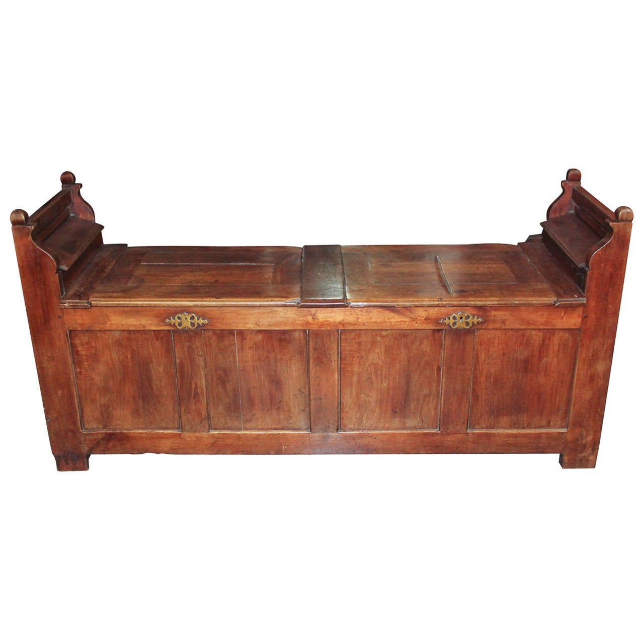 Early 19th c. English Oak Blanket Chest