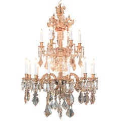 Fine 19th Century French Crystal Chandelier