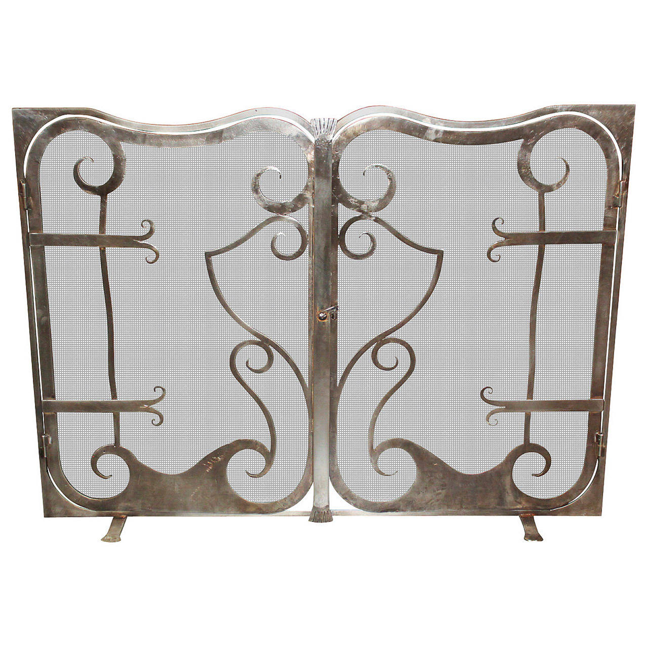 Legacy Custom Fire Screen For Sale At 1stdibs