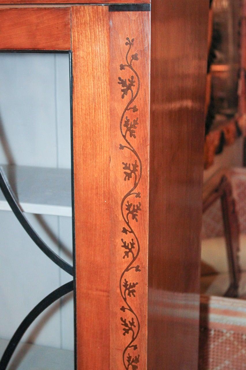 19th Century Biedermeier Bookcase In Good Condition For Sale In Dallas, TX