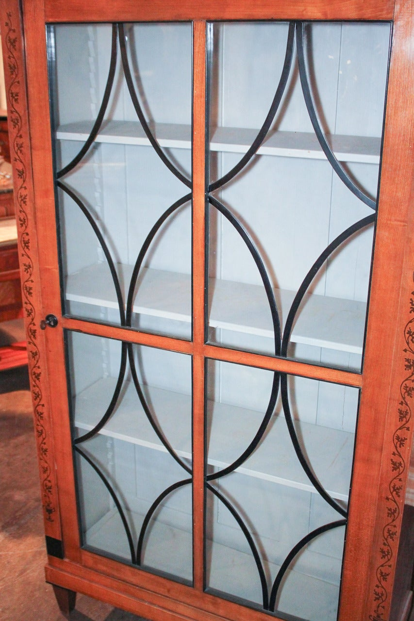 19th Century Biedermeier Bookcase For Sale 1
