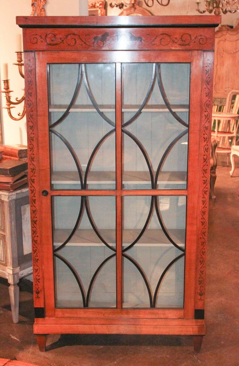 19th Century Biedermeier Bookcase For Sale 2
