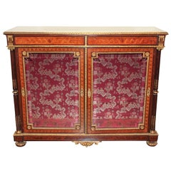 Exceptional 19th Century French Marquetry Cabinet