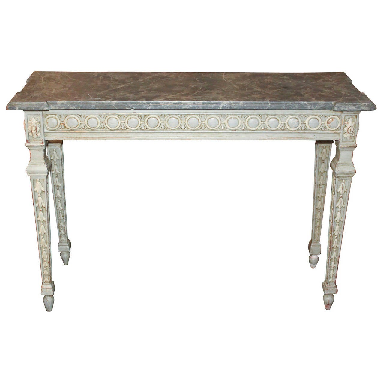 19th Century French Louis XV Carved Console