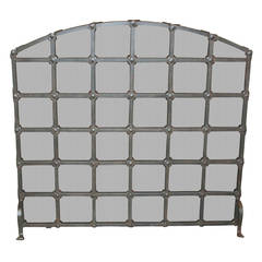 Legacy Custom Iron Fire Screen