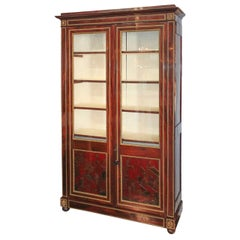 Outstanding 19th Century French Cuban Mahogany Cabinet