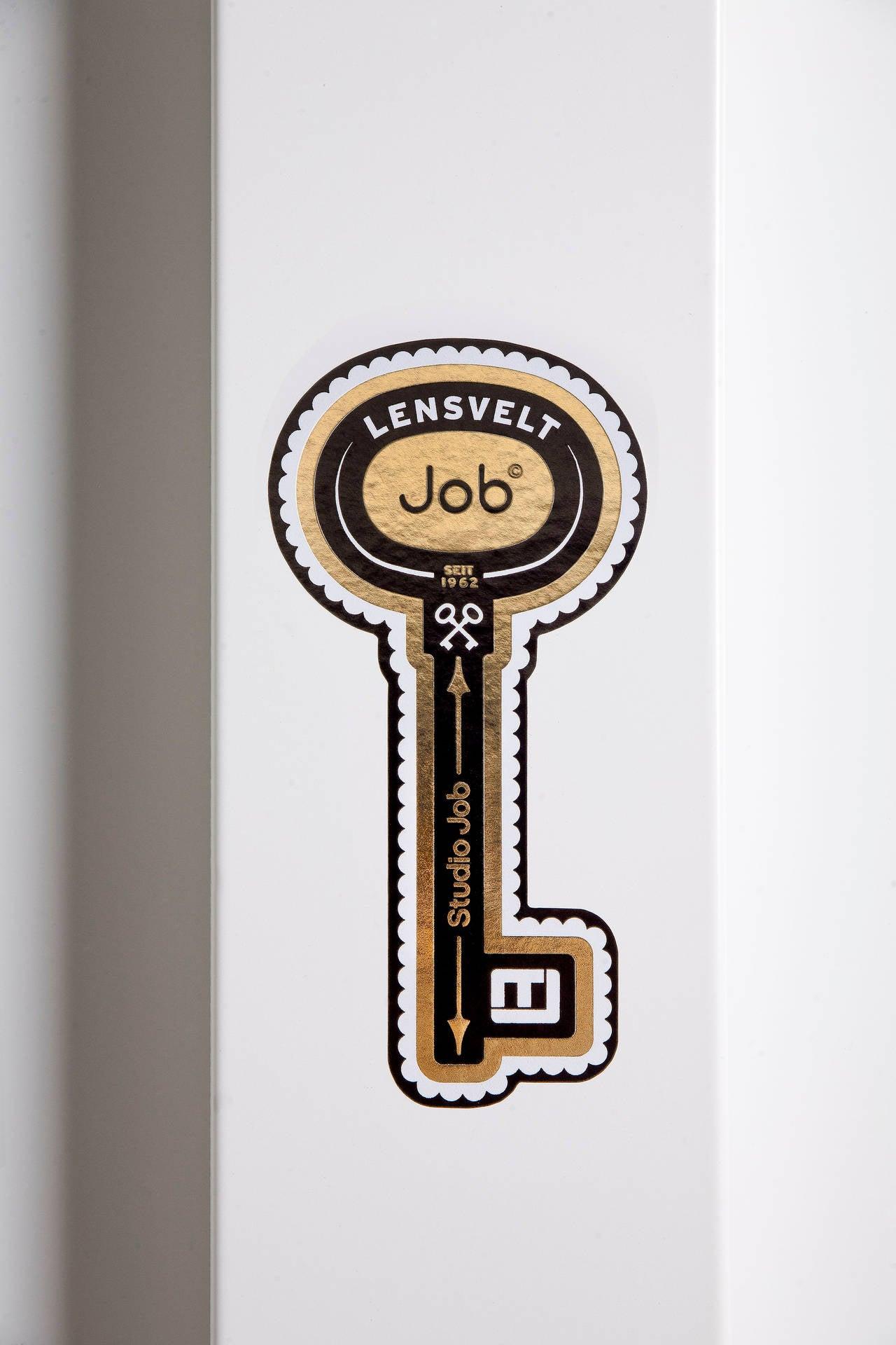 """Lensvelt and Studio Job No. 48 """"Job Office Cabinet"""" in Steel and Bronze, 2014 5"""