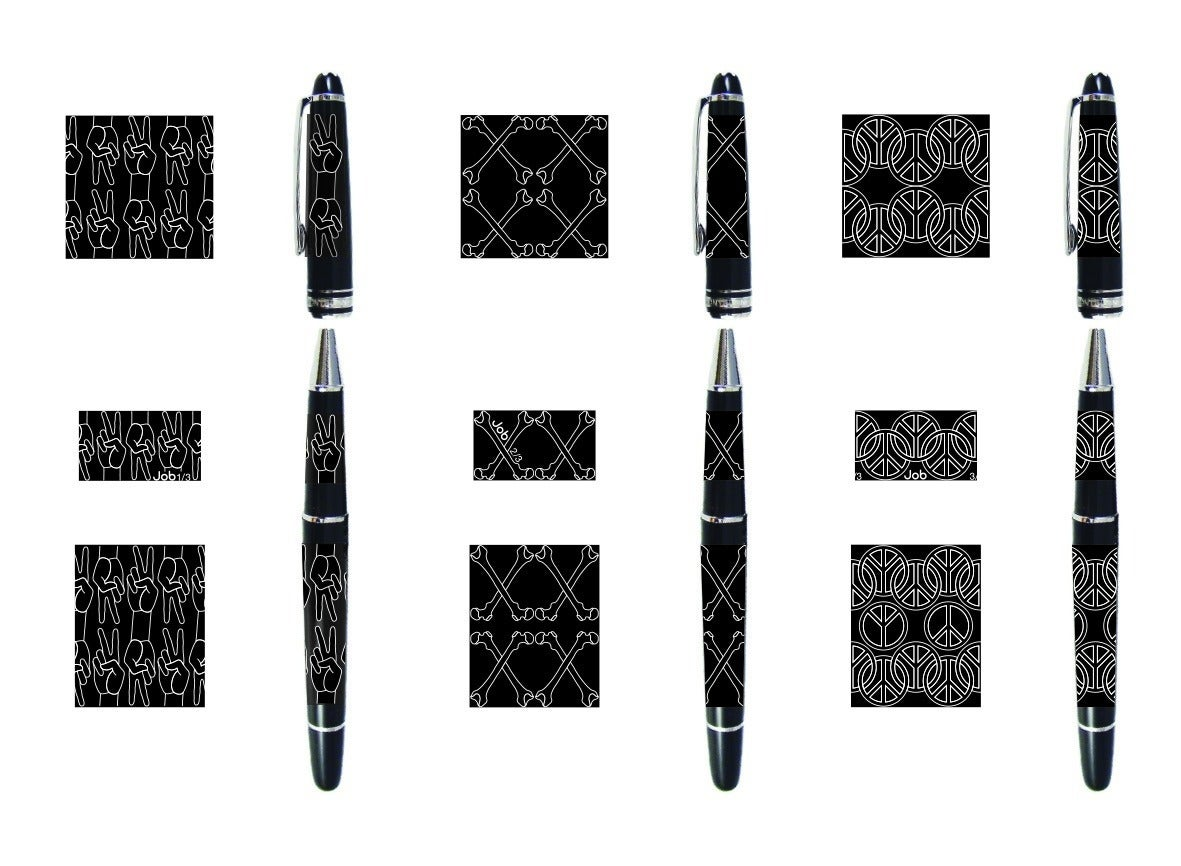 "Studio Job and Montblanc No. 57 ""Studio Job Montblanc Pen 2014"" in Resin, 2014 4"